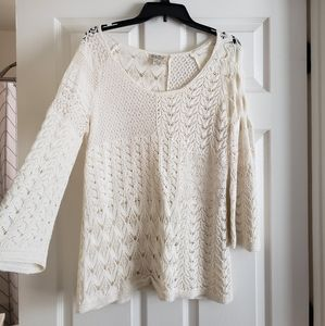 NWOT Lucky Brand Knit Top Medium